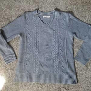 Basic Soft Vneck Sweater from Faded Glory